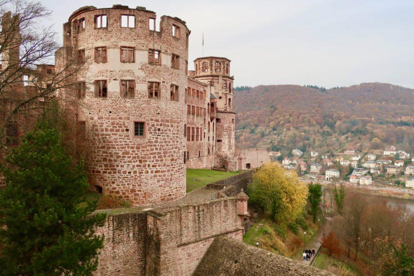 Paddy Leigh Fermor in Heidelberg